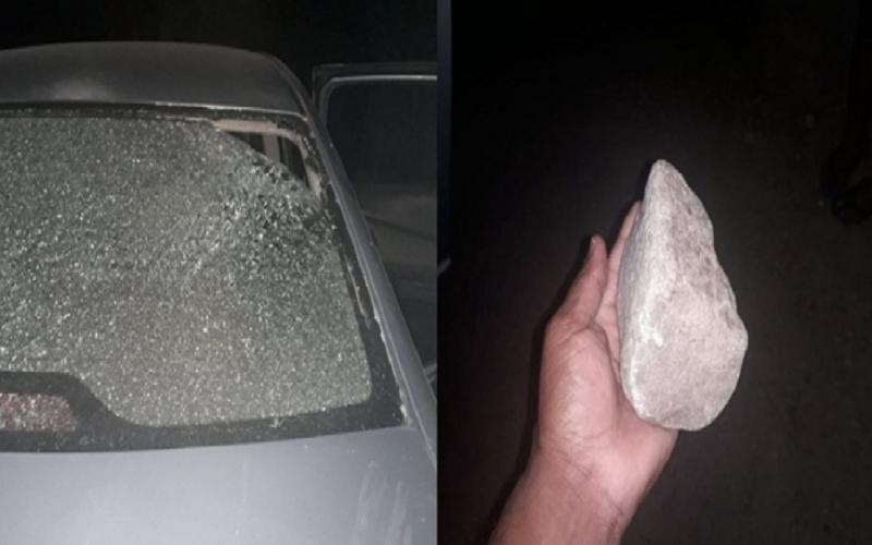 PI: Homem ameaça esposa e joga pedra em carro ocupado por ela e filhos