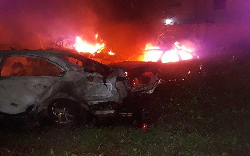 Incêndio atinge antiga delegacia em Picos e destrói mais de 50 veículos