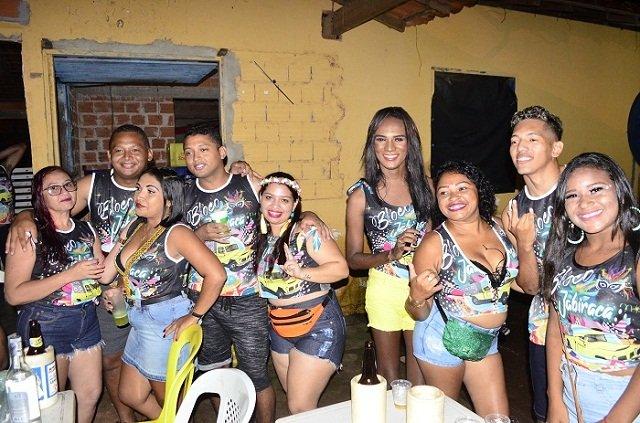 Antes de cair na folia, bloco Jabiraca realizou concentração com Forró Vip, Cássio Play e Forró Elegance