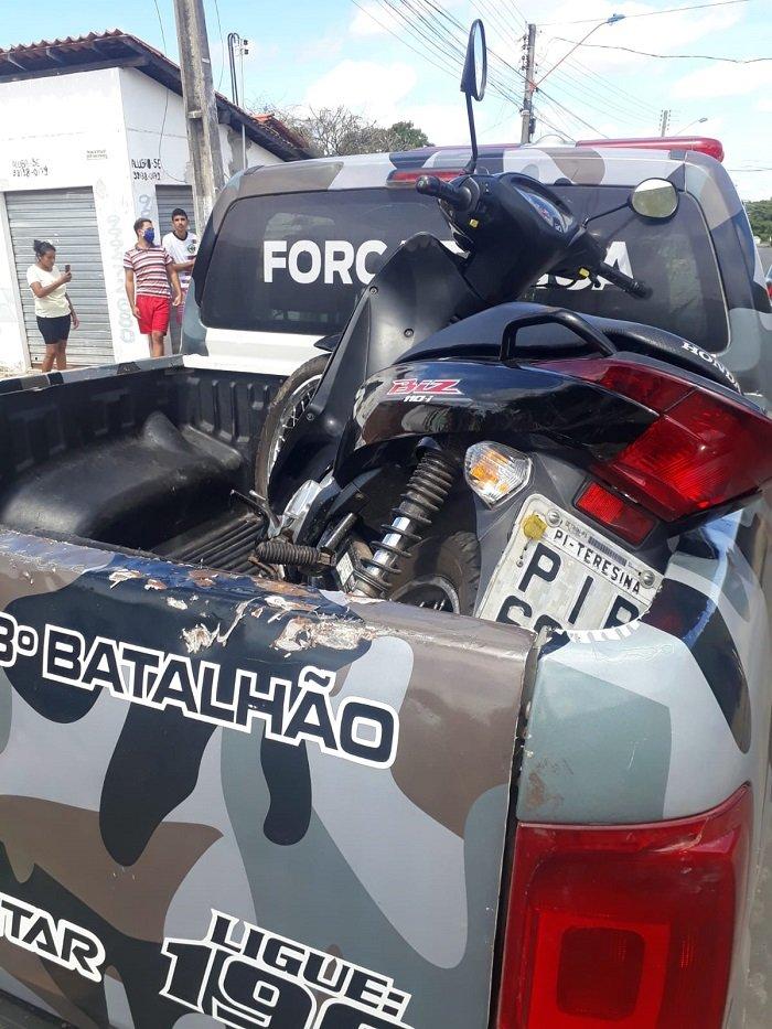 Casal é preso com porte de arma de fogo na zona Sul de Teresina