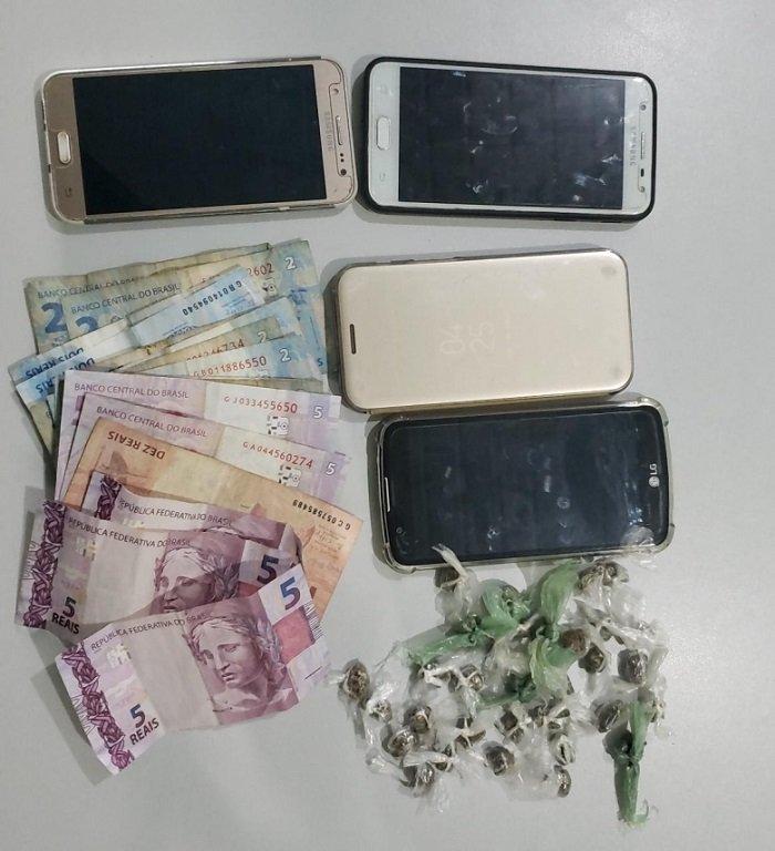 Polícia Civil prende traficante e apreende drogas, dinheiro e celulares roubados em Campo Maior