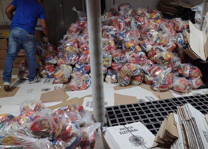 Justiça Eleitoral apreende 280 cestas em Centro de Referência na cidade de União no Piauí