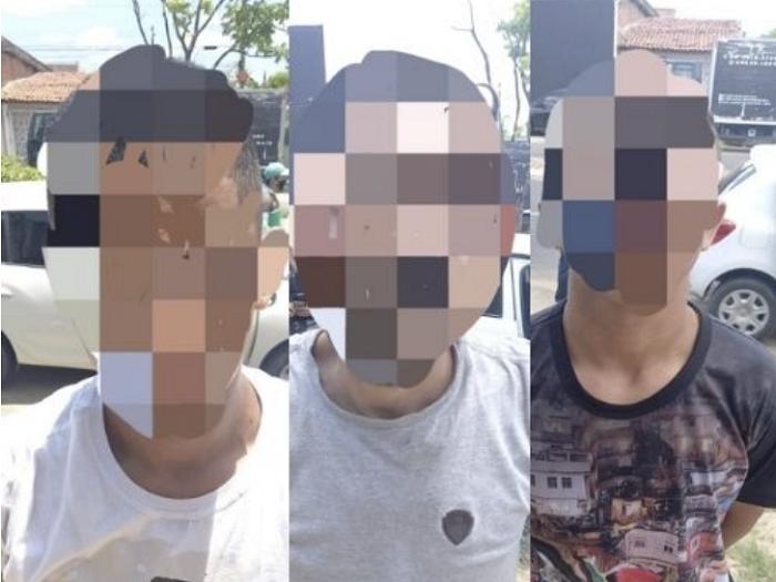 Polícia prende criminosos acusados de realizar arrastão em uma panificadora, em União